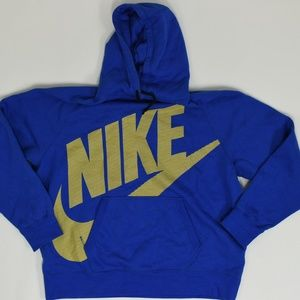 Nike Big & Tall XXL Blue   Hoodie Jacket Cotton So